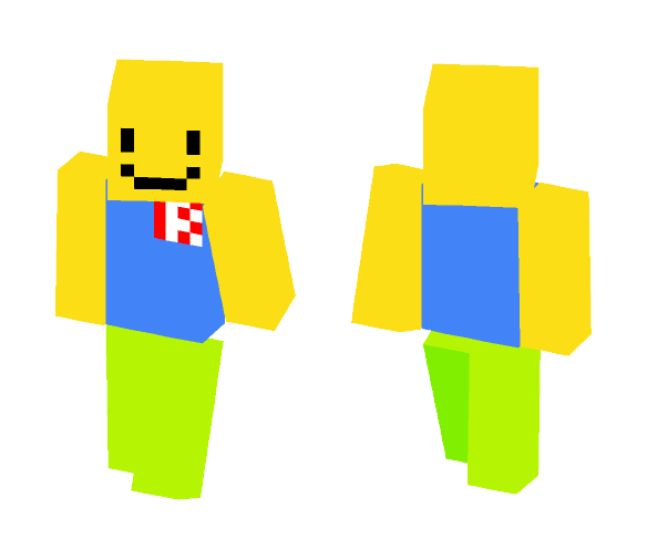 Noob Roblox Skin!!!!! - Male Minecraft Skins - image 1