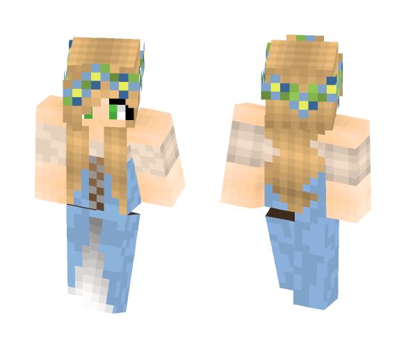 Medieval Female Skin - Female Minecraft Skins - image 1
