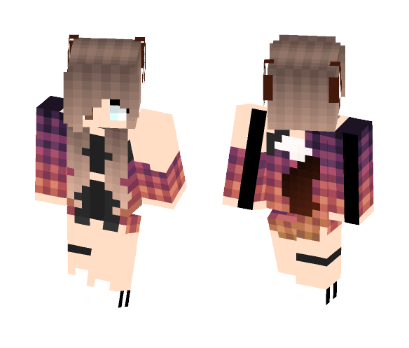 Cute wolf girl ❣️ - Cute Girls Minecraft Skins - image 1