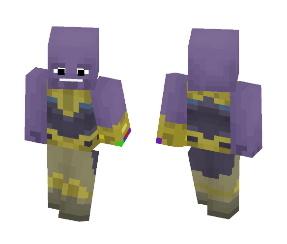 Thanos(Avengers: Infinity War) - Male Minecraft Skins - image 1